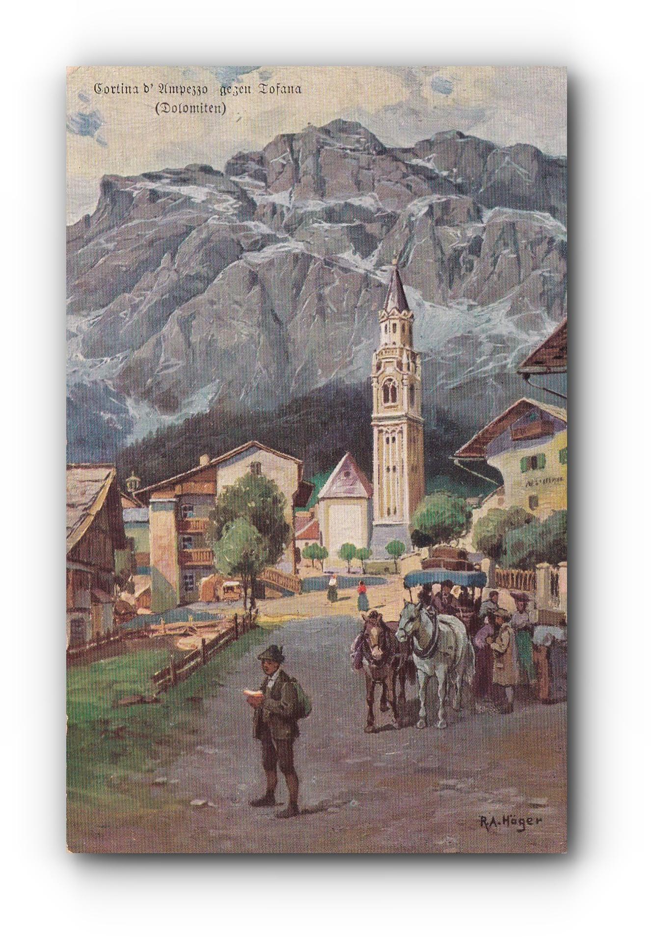 CORTINA D'AMPEZZO  - 02.09.1909