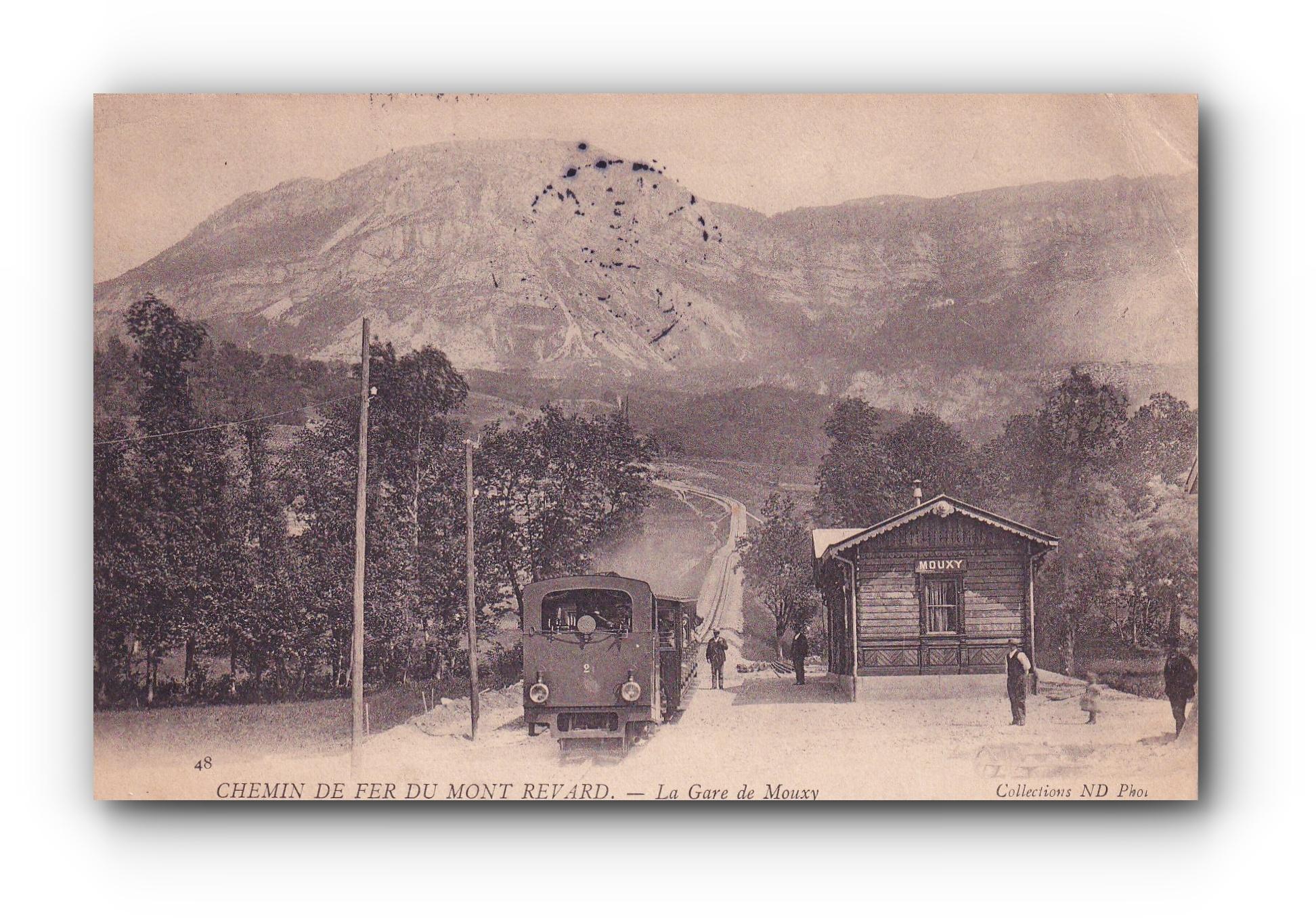 Chemin de fer du Mont Revard - 25.04.1905 - Eisenbahn am Mont Revard - Mont Revard Railway