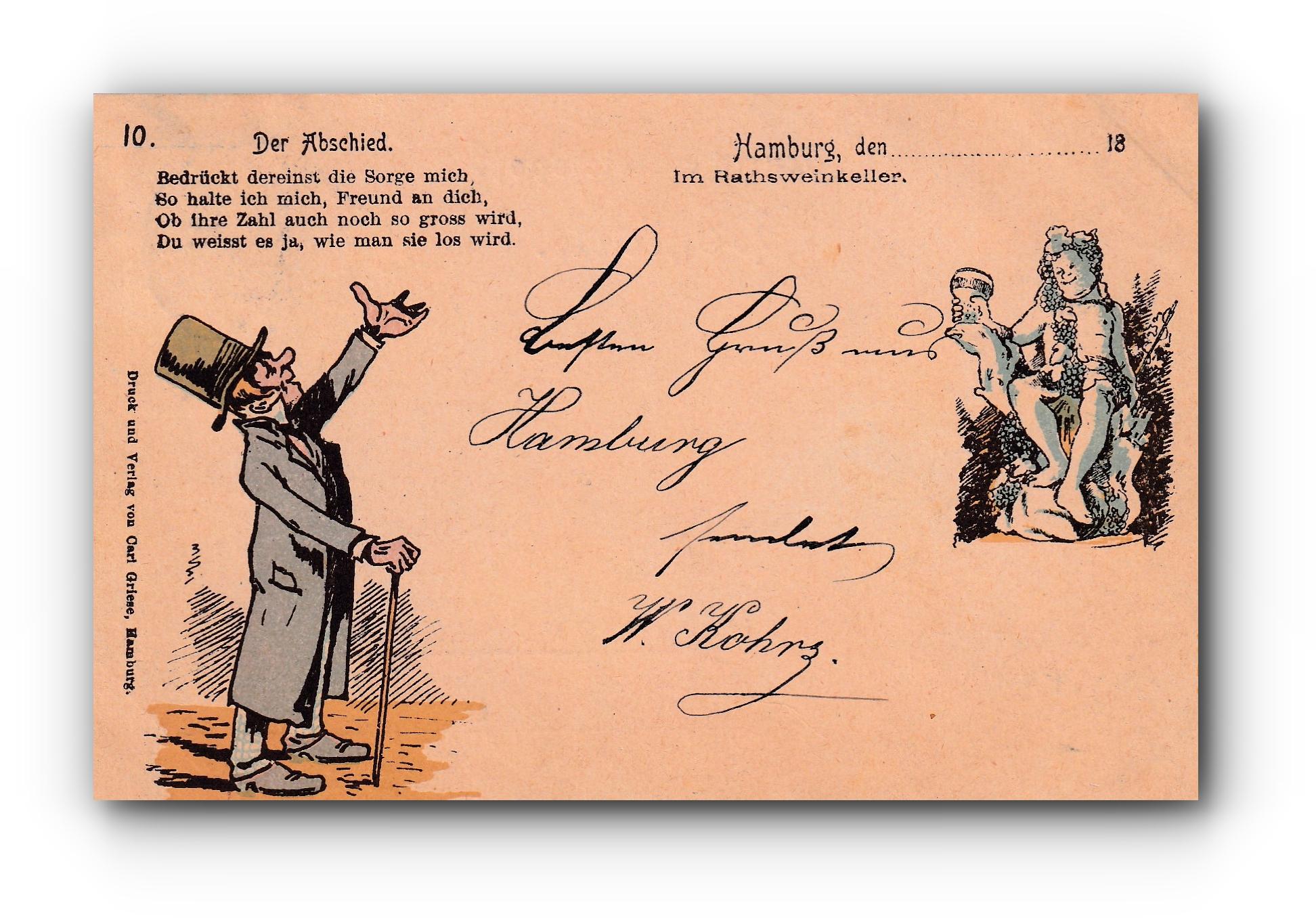 Der Abschied - 24.06.1897 - L'adieu - The farewell