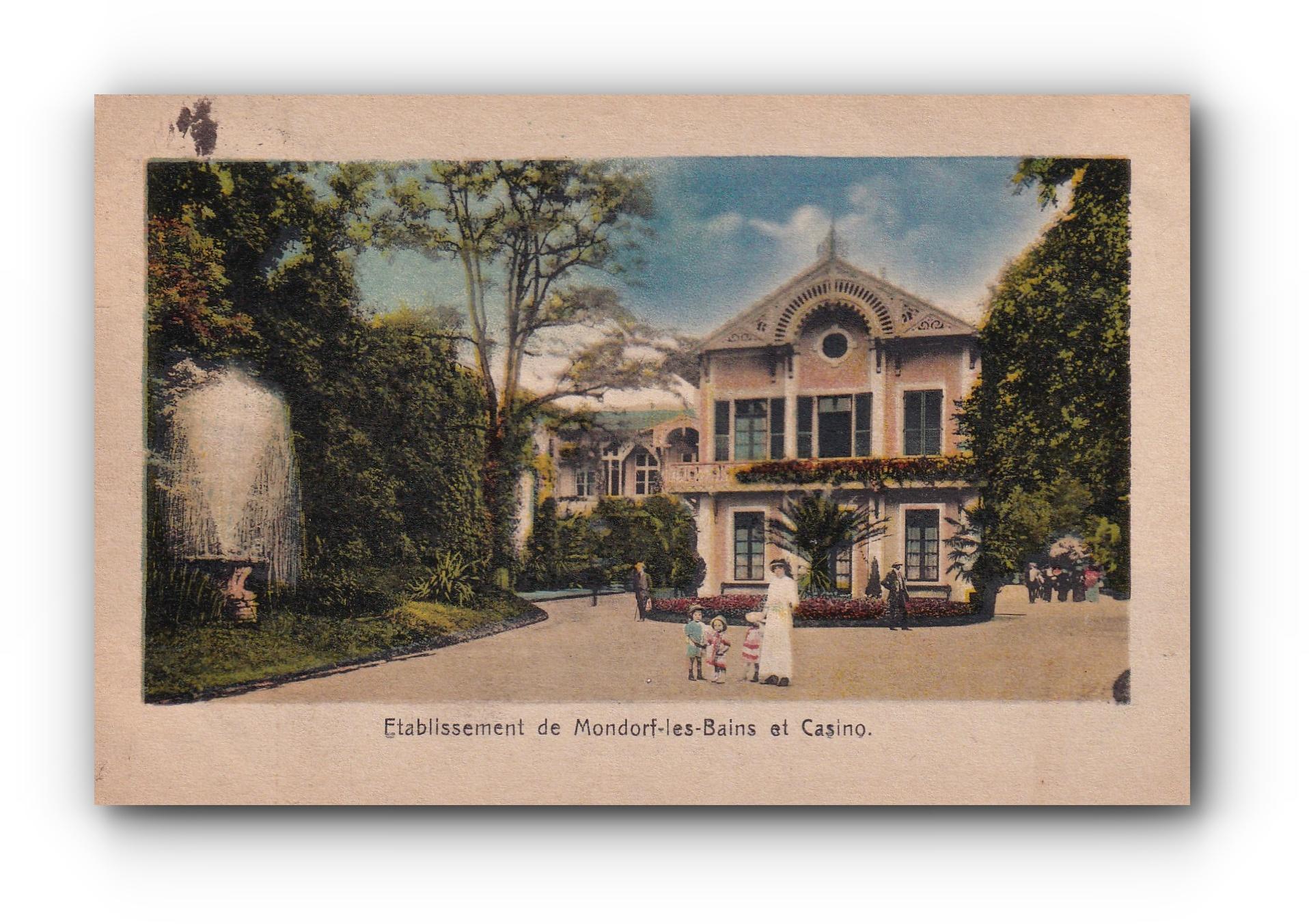 MONDORF les Bains - Casino - 18.08.1924 -