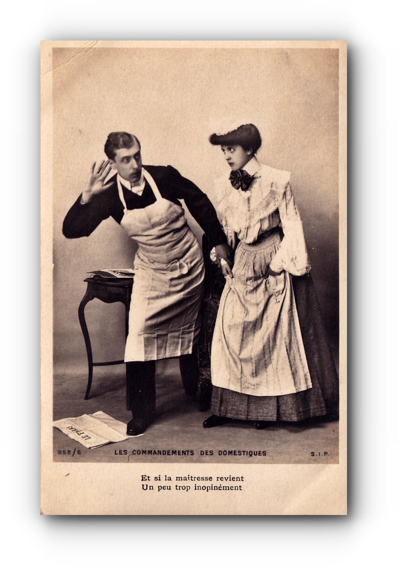 Les commandements des domestiques - 1924 - Die Gebote der Diener - The servants' commandments