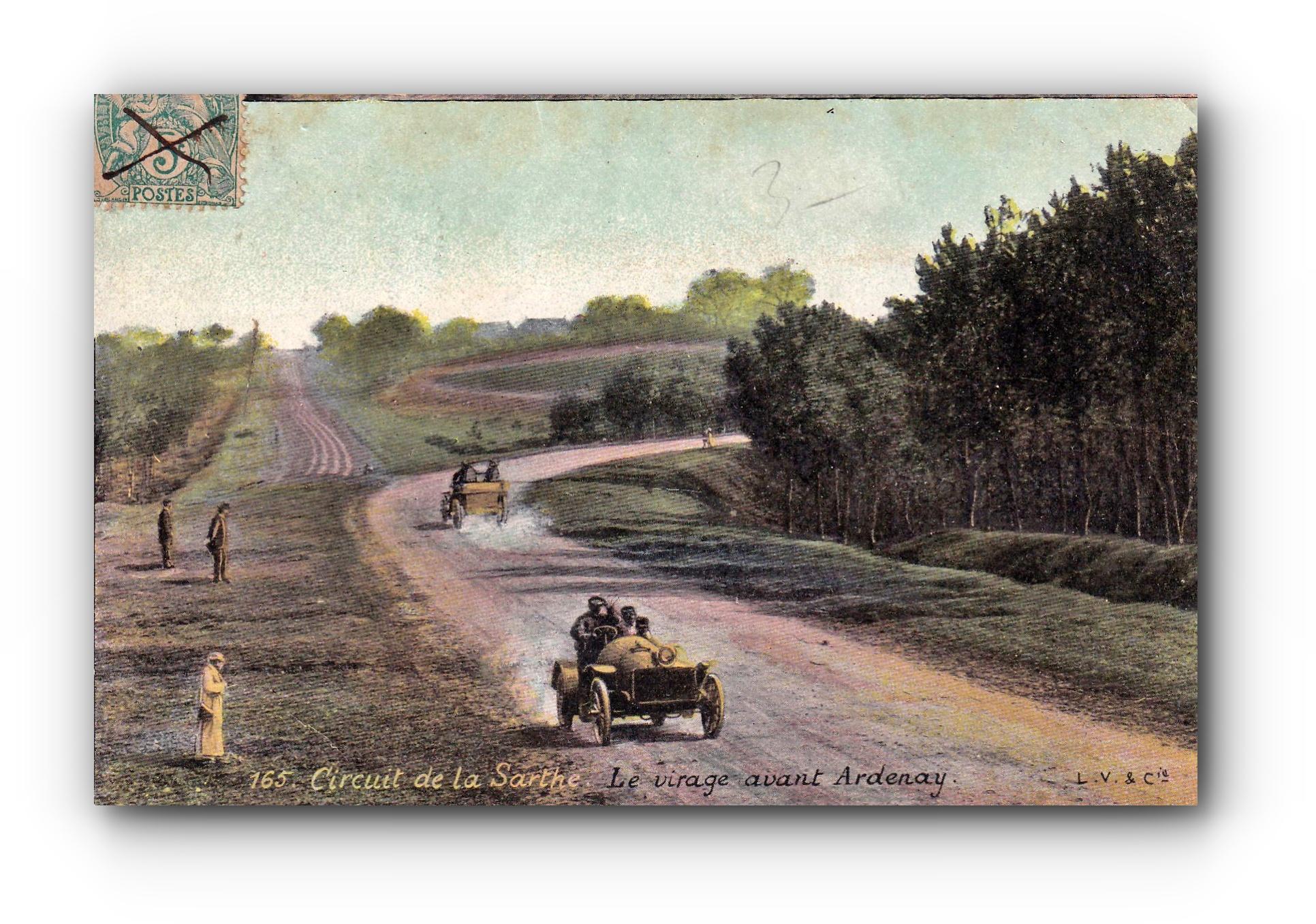 Circuit de la Sarthe - 20.04.1906 - Rundkurs an der Sarthe - Circuit on the Sarthe