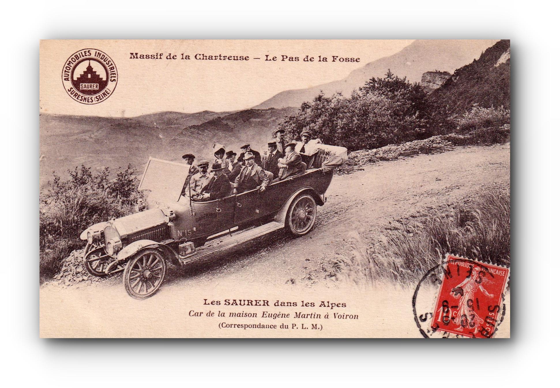 Massif de la Chartreuse - 29.08.1904 - Das Massiv der Chartreuse - The Chartreuse Massif