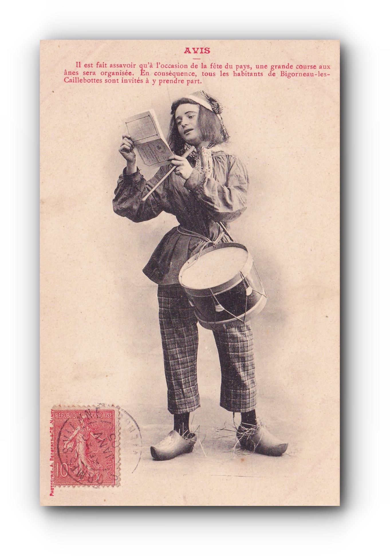 Avis aux habitants - 01.1905 - Mitteilung an die Einwohner - Communication to the residents