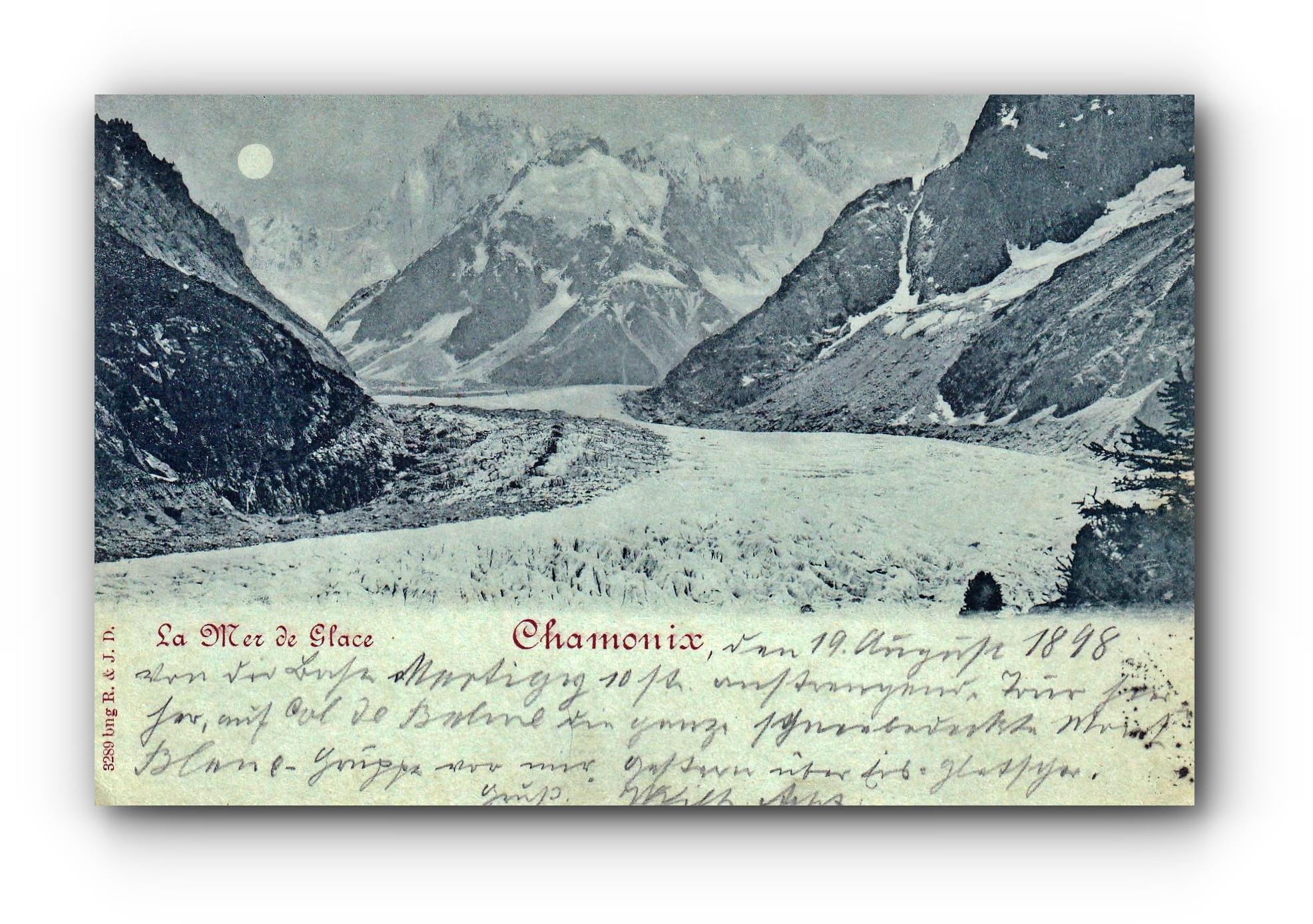 CHAMONIX - 20.08.1898 -