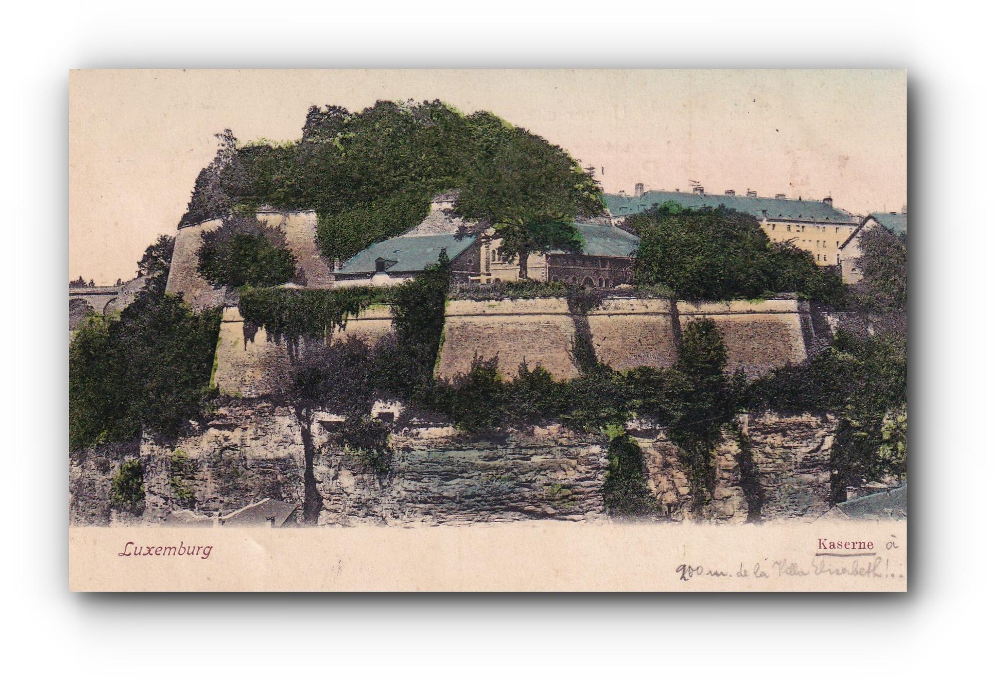 LUXEMBURG Kaserne - 18.10.1911 - Casernes - Military barrack