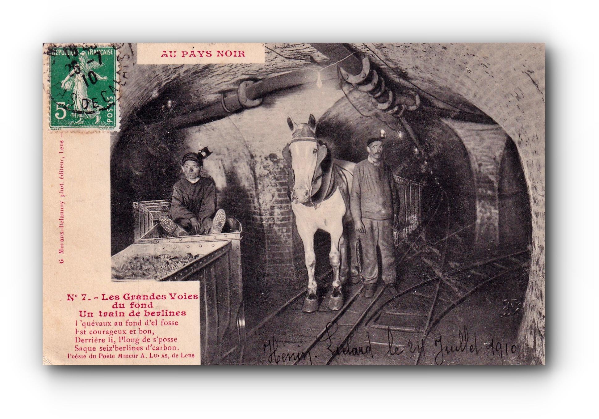 Au pays noir - 24.07.1910 - Im schwarzen Land - In the dark country