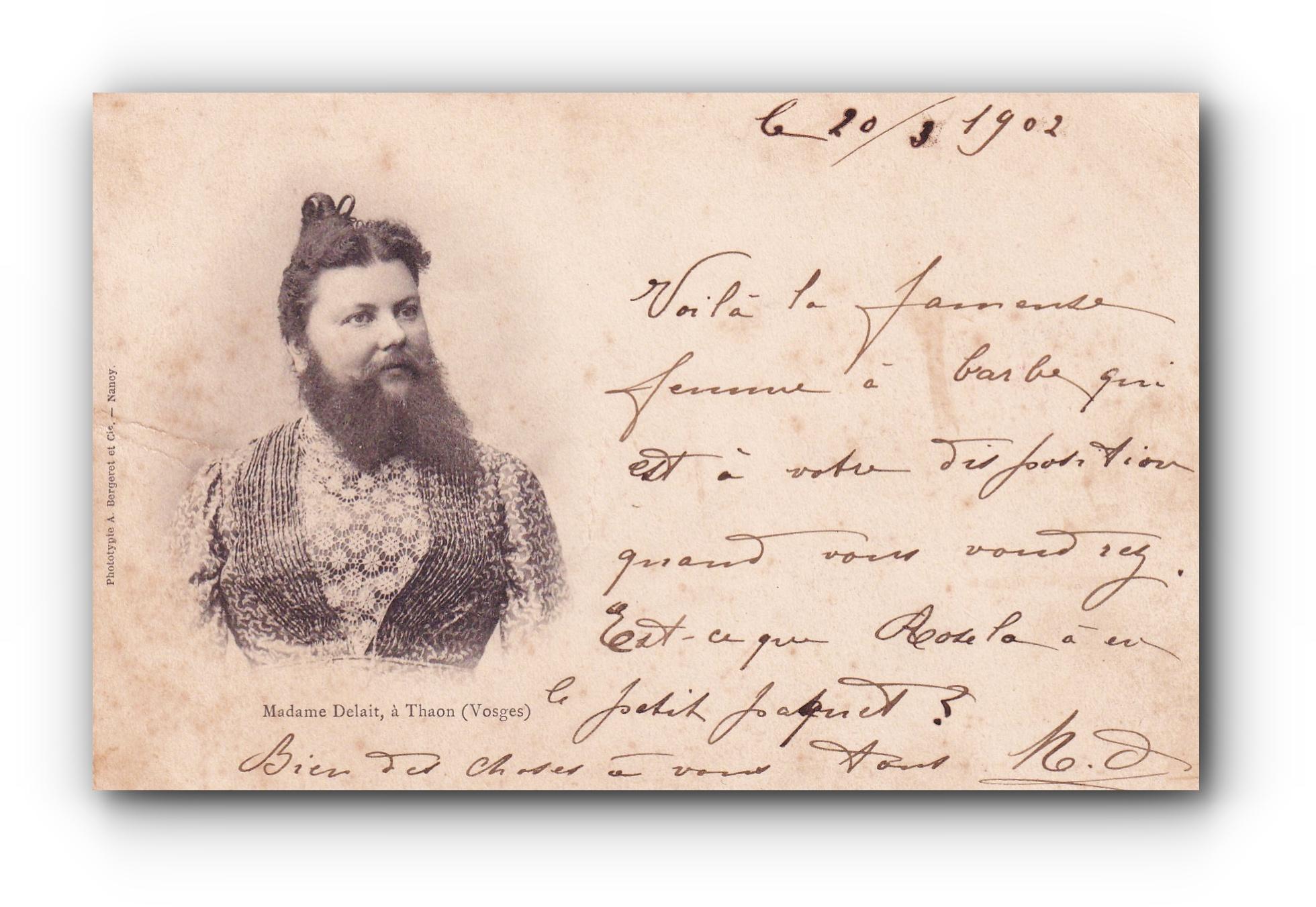 Madame Delait - 20.03.1902