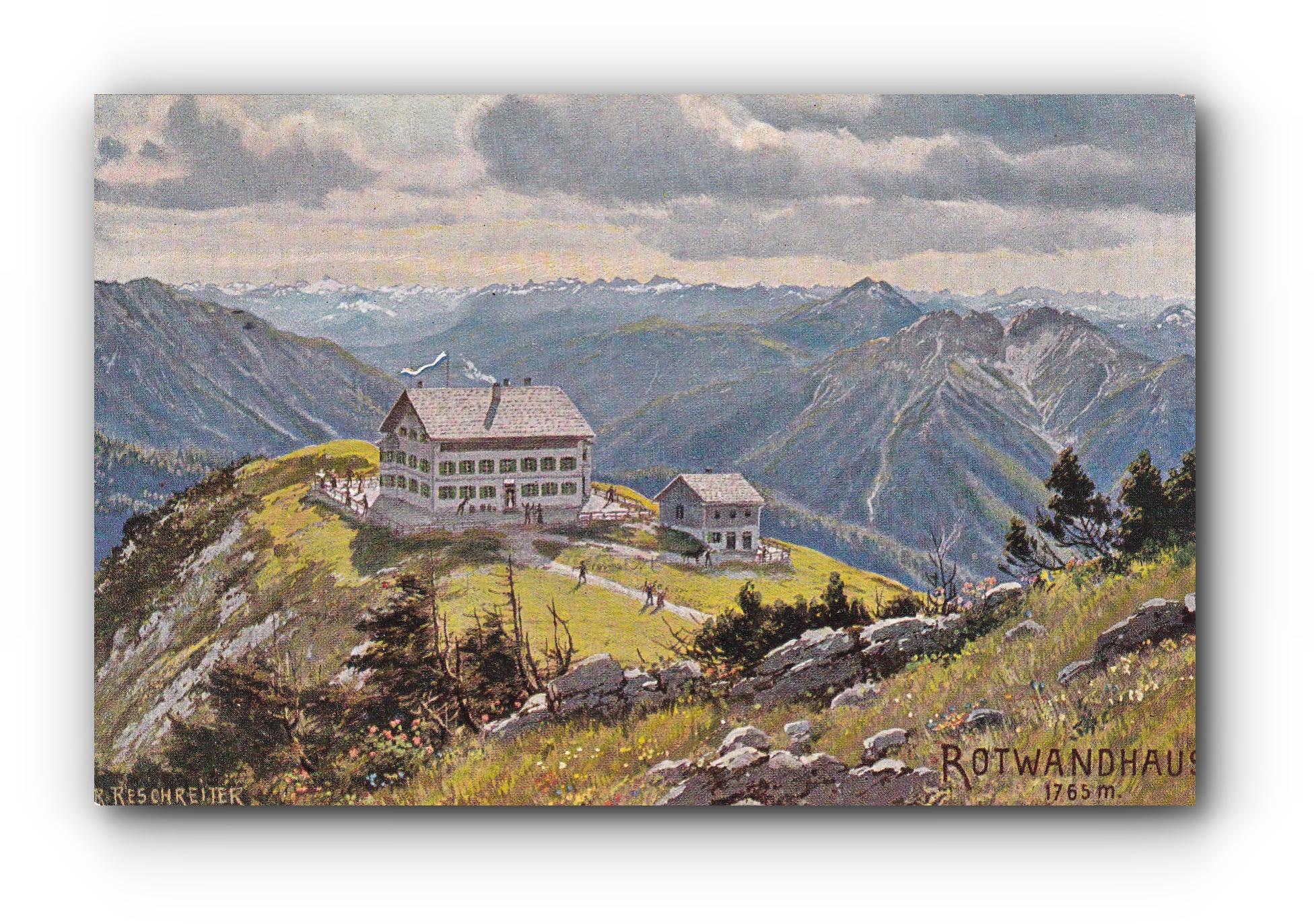 Rotwandhaus - 1903 -