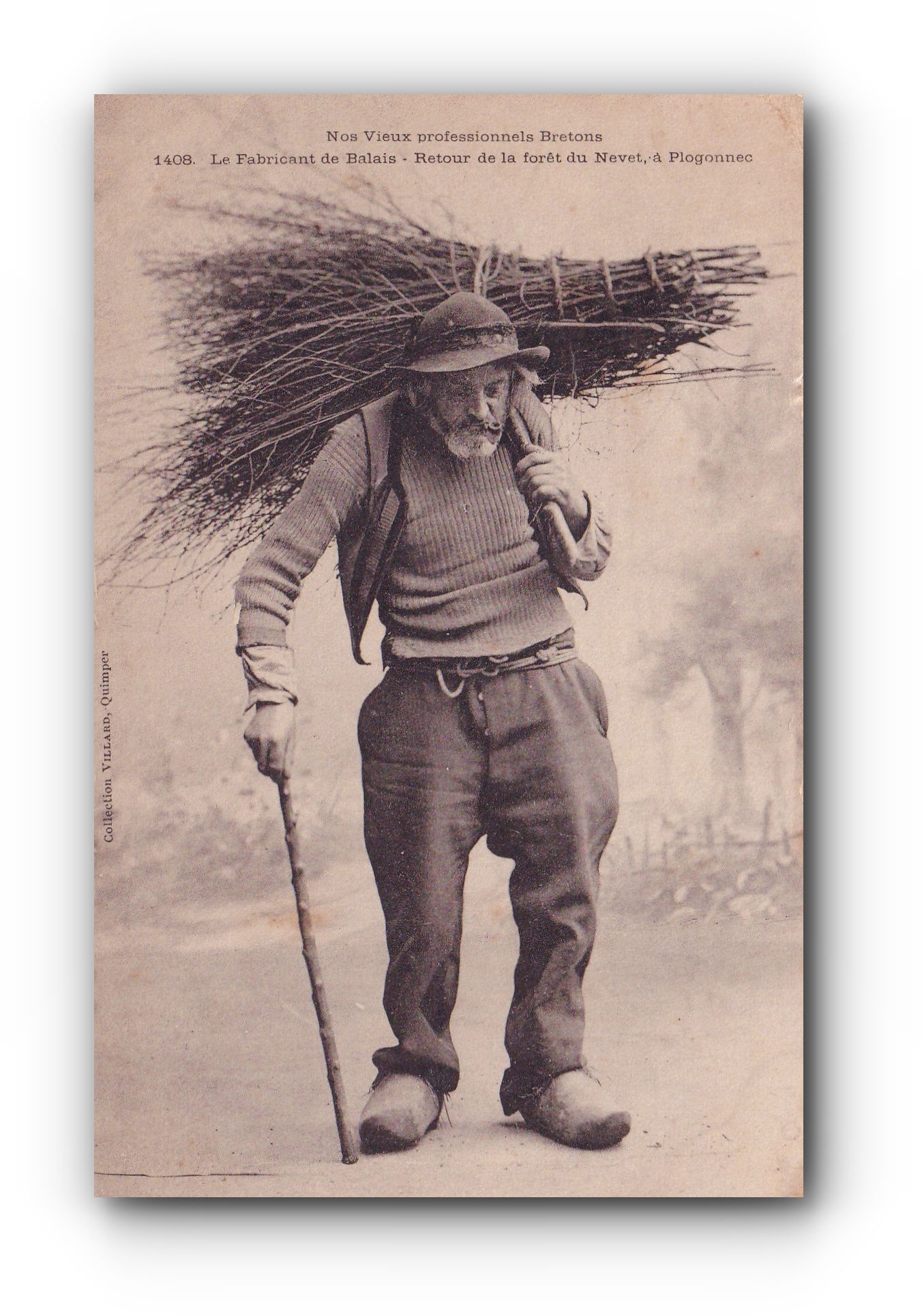 Le fabicant de balais - 1904 - Der Besenhersteller - The broom maker