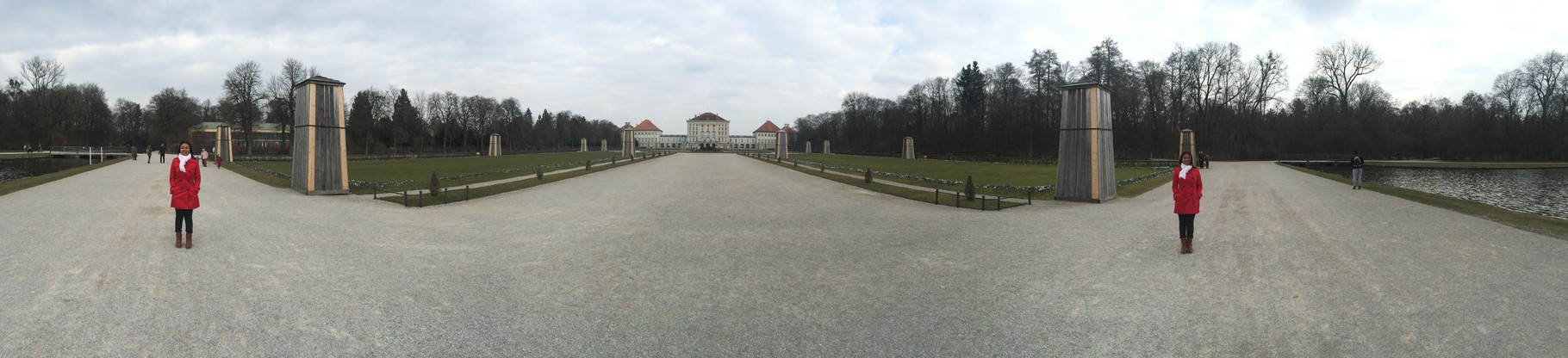 Twins? Parc of Nymphenburg Castle, Munich, Germany (March 2016)