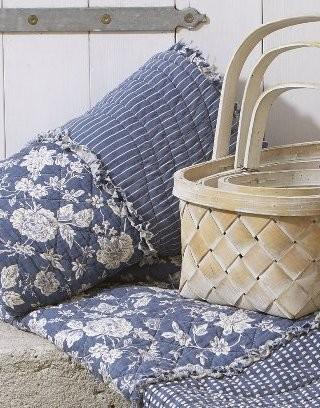 Quilt-Decken und Kissen