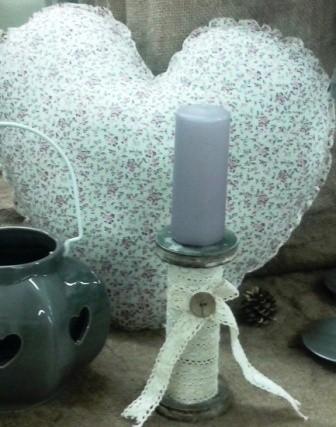 Kerzenhalter, Windlichter und Kerzen