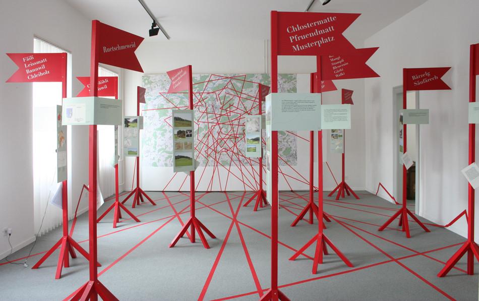Ausstellungstelen Museum Langenthal