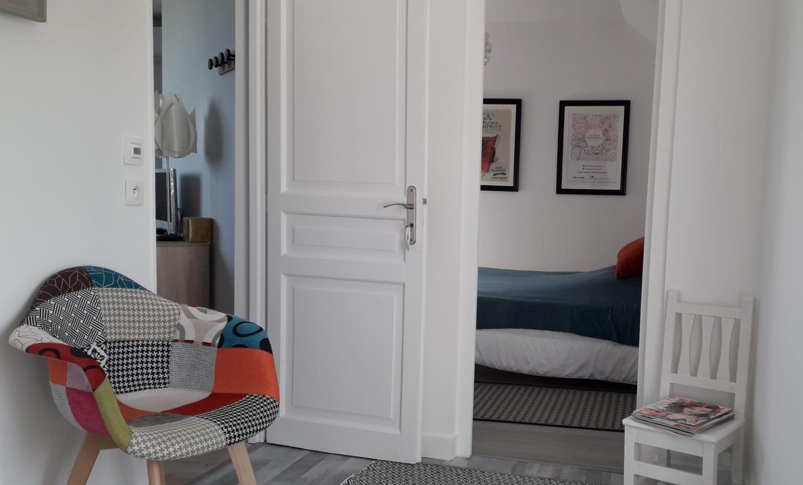 Espace commun au 2 chambres