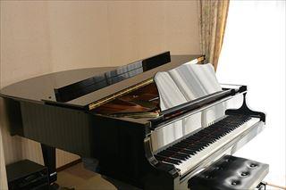 本格的な音を体感するグランドピアノ