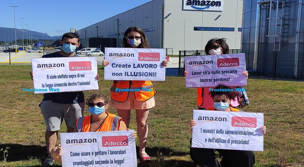 Amazon. Ex Lavoratori in Protesta