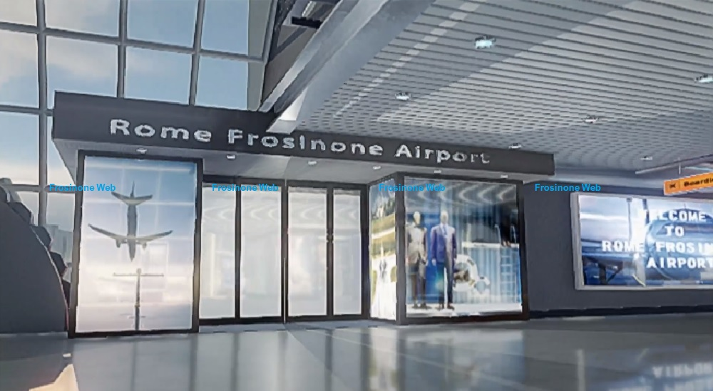 L'aeroporto Civile di Frosinone