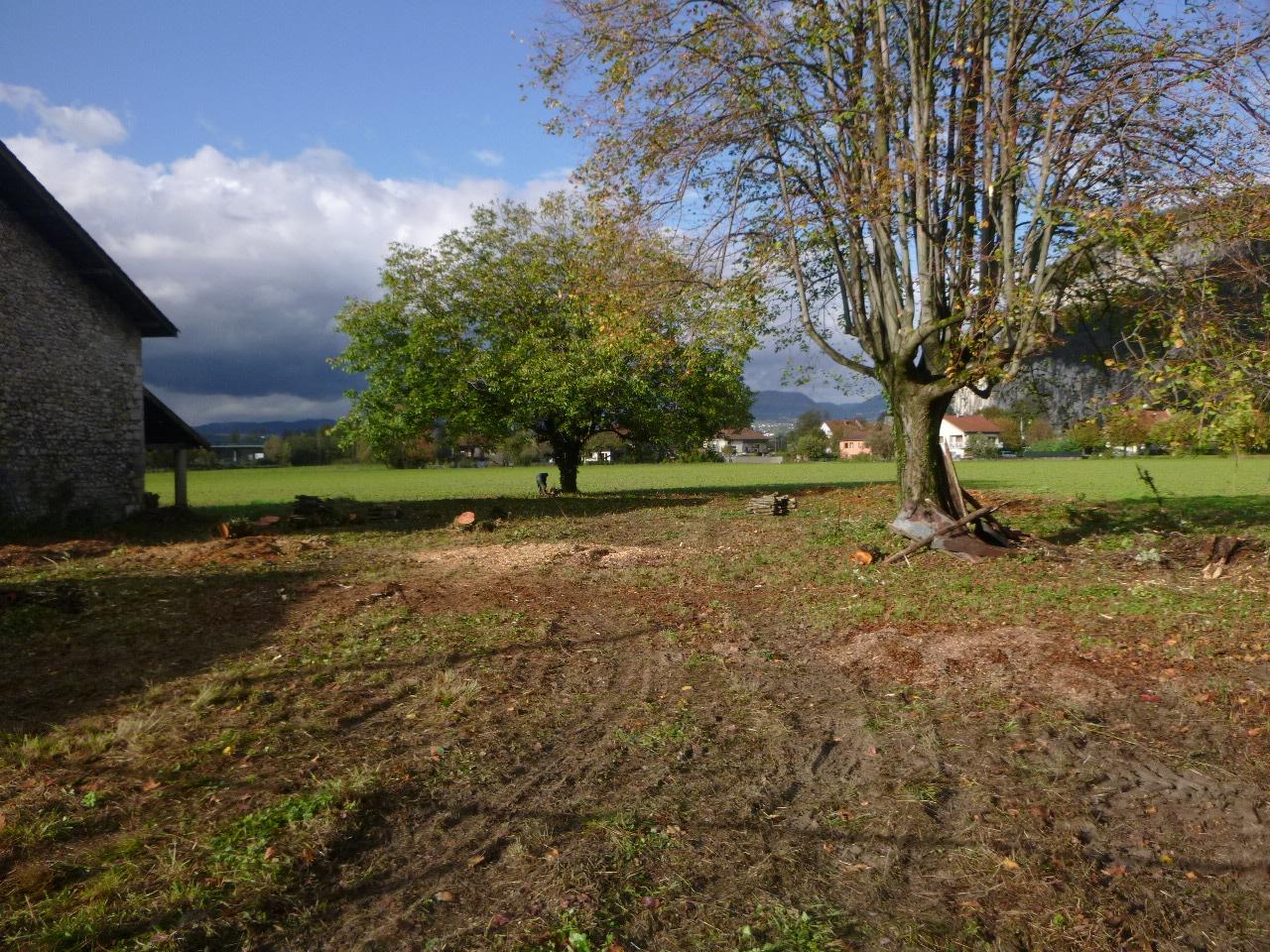 Réaménagement d'une ferme en appartement : préparation du terrain