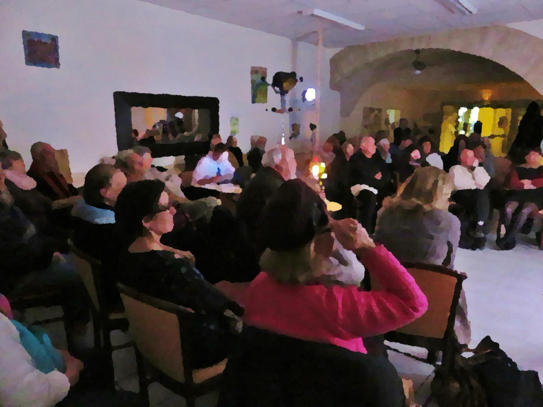 Comité de quartier st Roch-Ecusson - soirée Jean Joubert - 14 11 2017- photo D. Ferré