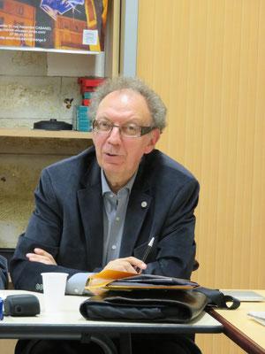 André Moutot- Comité de quartier st Roch-Ecusson - Trésorier