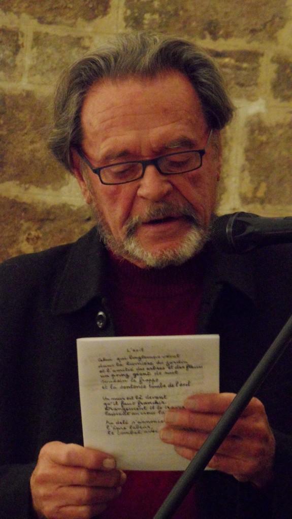 Photo Danielle ferré - Quartier st Roch-Ecusson- Jean Joubert - soirée littéraie 11- 2013