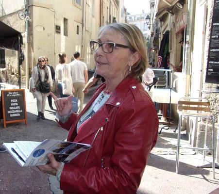 Comité de quartier st Roch-Ecusson - 2018 - Janie Garcia -Visite Ecusson Montpellier