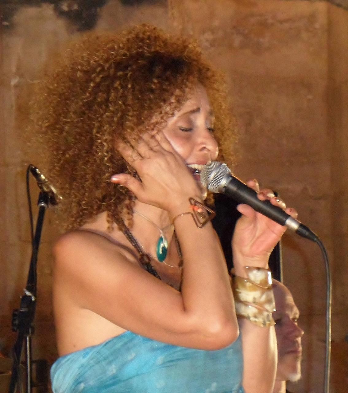 Keyko Nimsay- Jazz en Méditerranée- st Roch Montpellier - 28 juin 2014- photo JM Quiesse
