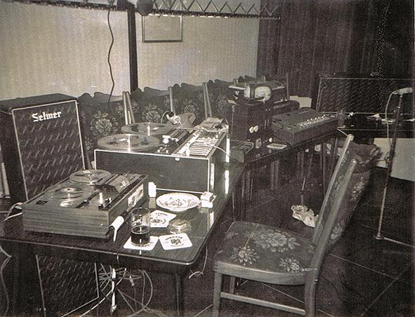 1973 erste elektronische Experimente