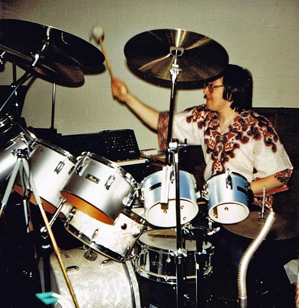 1981 als Drummer