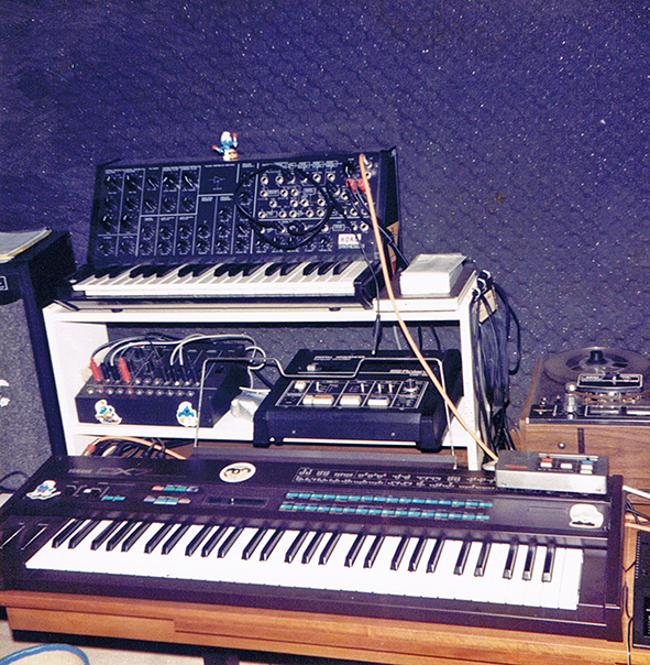 Keyboards and Sequencer 1985