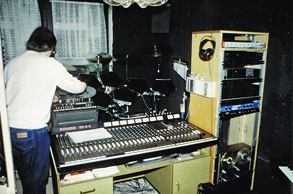 "Mix- and Mastering ""Sidonia"" 1992"