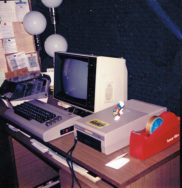 Der erste Studio-Computer 1985