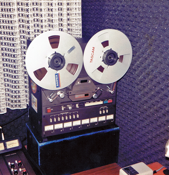 8-Track-Taperecorder 1985