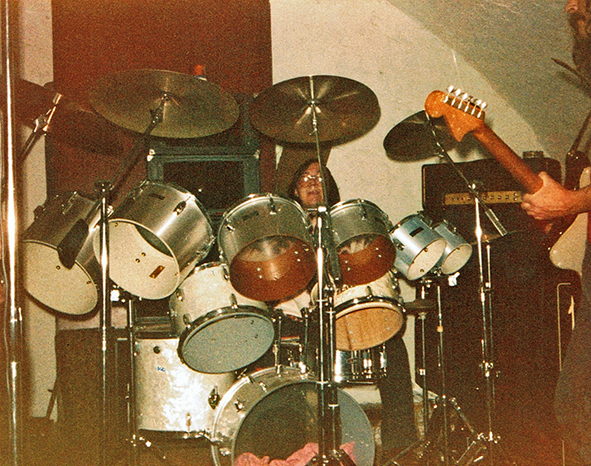 1979 Drummer in Rockband