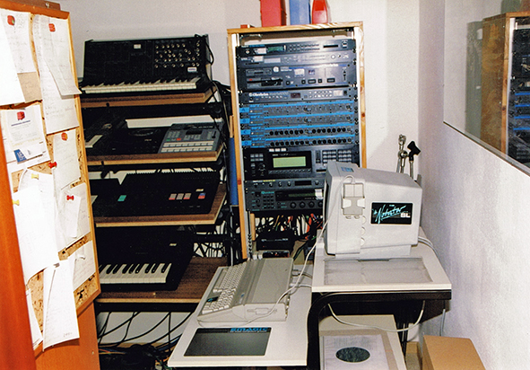 Keyboards, FX-Rack, Computer 1997