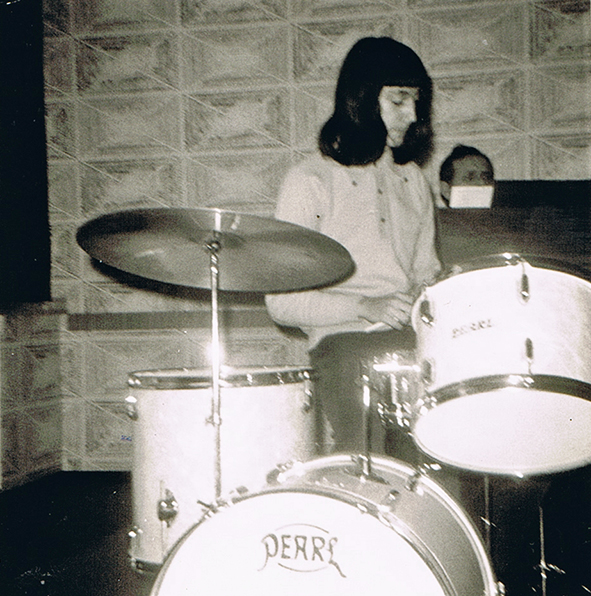 1971 als Drummer