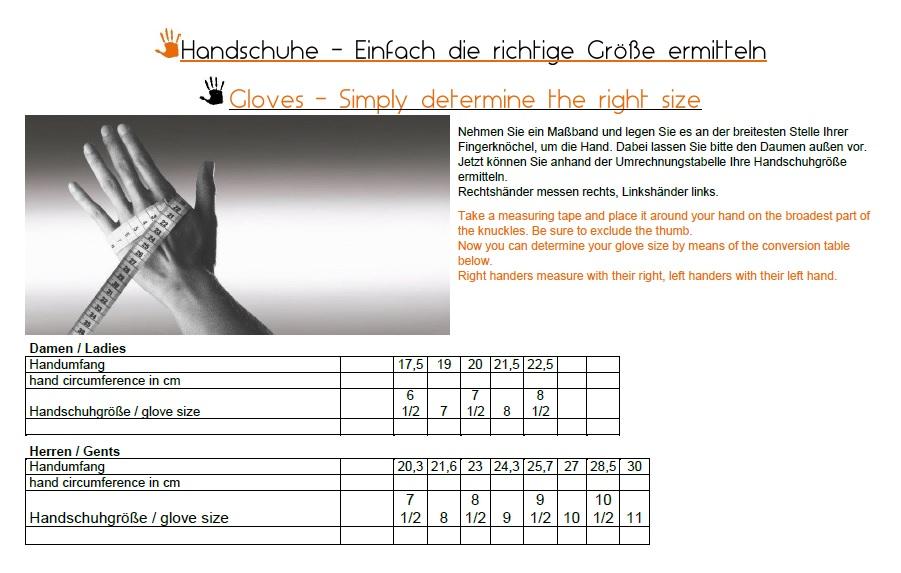 Größenermittlung Handschuhe HaukeSchmidt