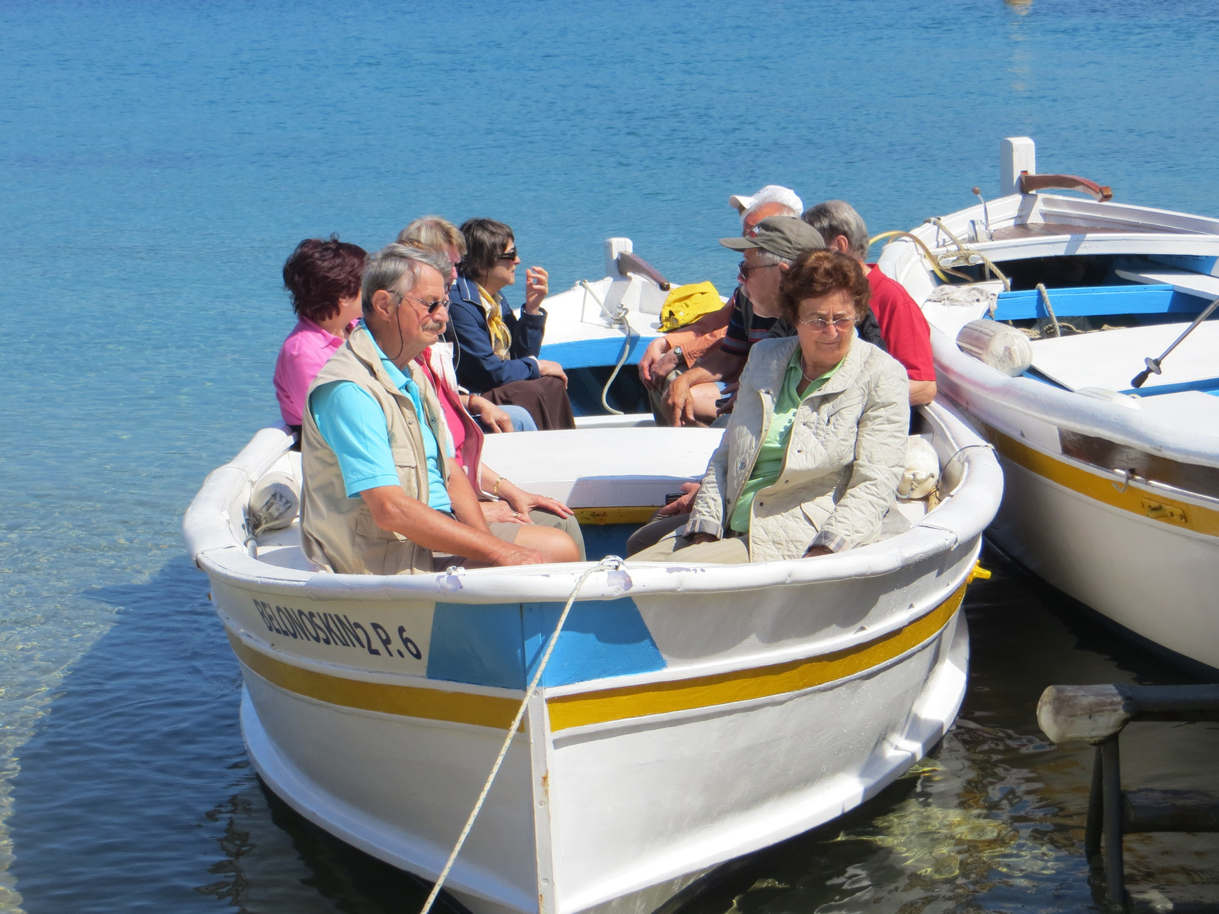 Fahrt zum Capo Palinura