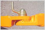 Friedhofsbagger BOKI 2651 - Abstütztechnik mit Zahnscheiben