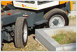 Friedhofsbagger BOKI 4551 - Allradgelenkt
