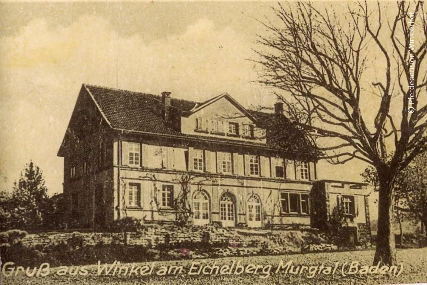 Historische Postkarte aus Winkel