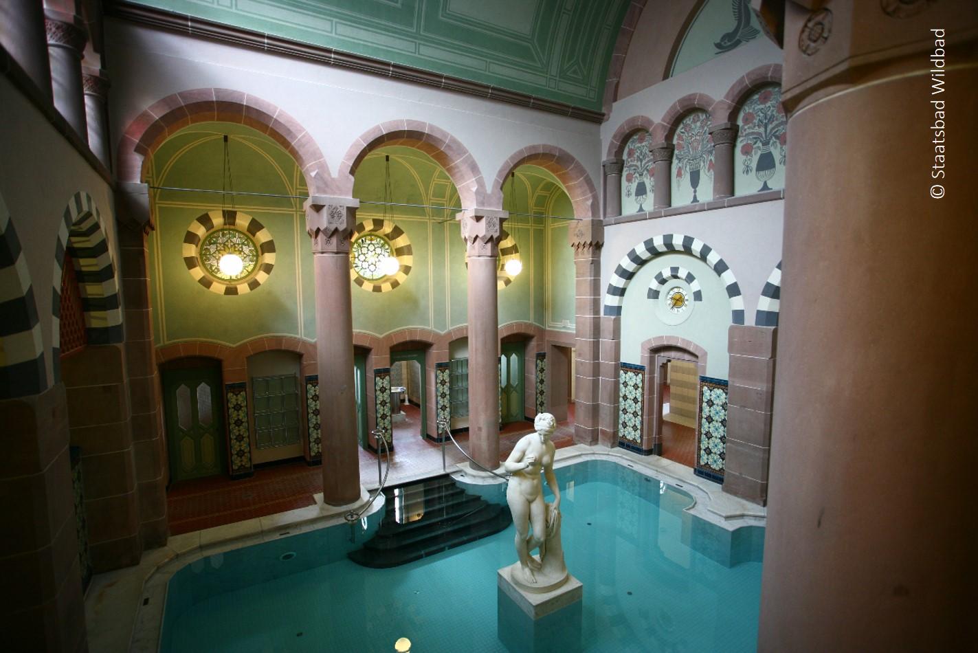 Das Palais Thermal in Bad Wildbad ...