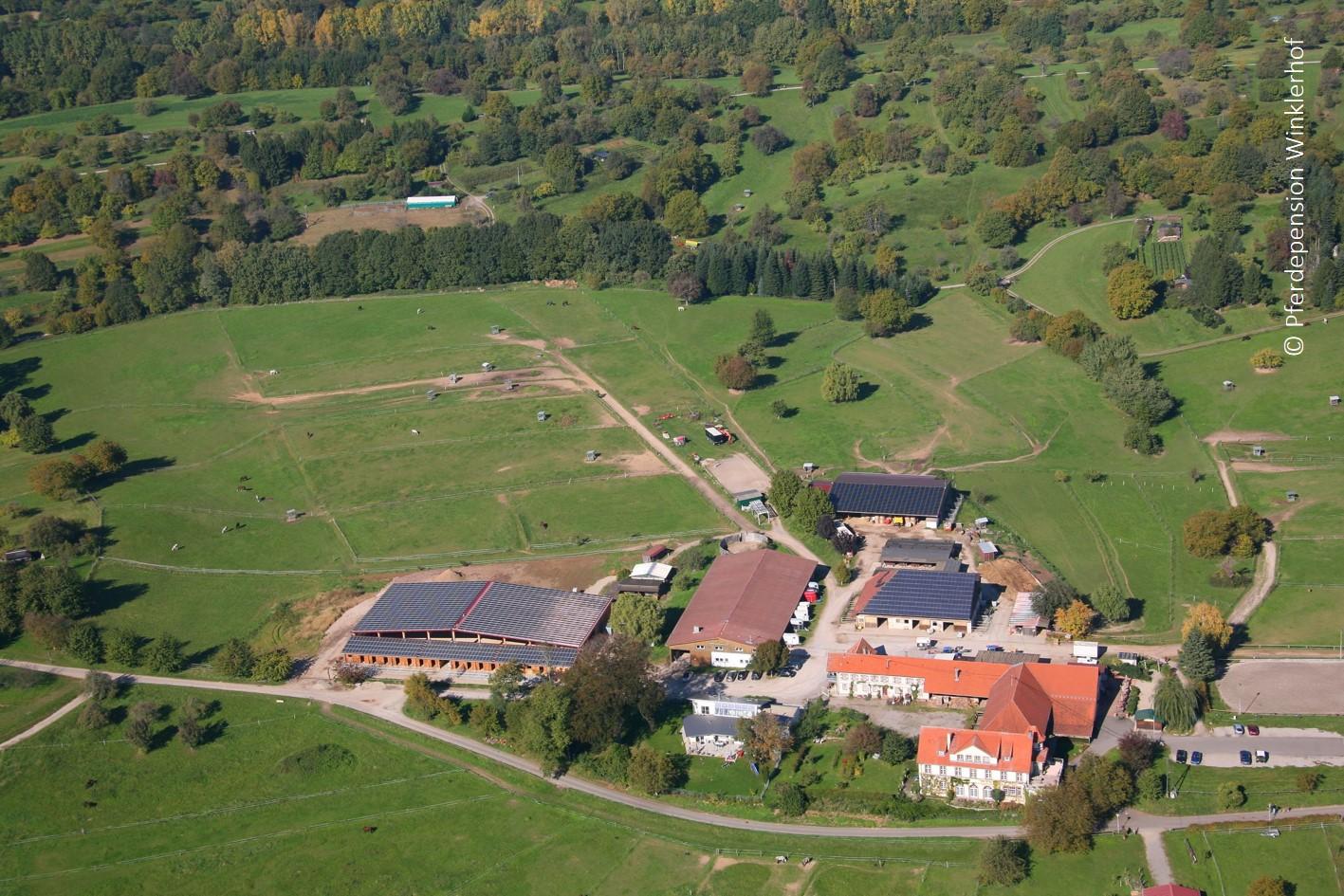 Luftbild der gesamten Anlage