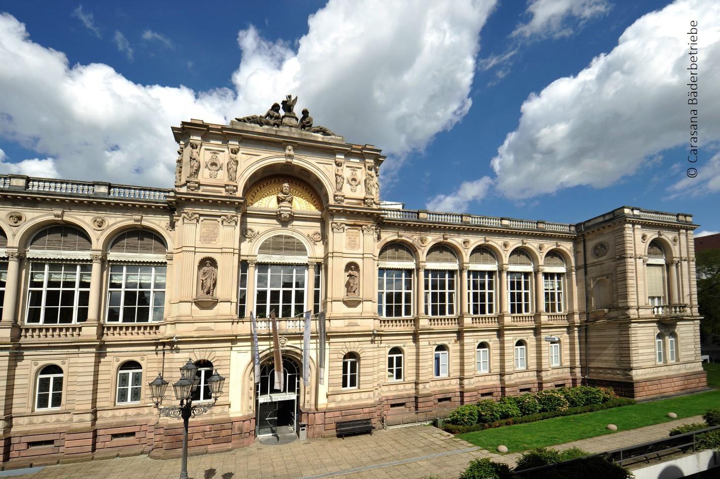 Das Friedrichsbad in Baden-Baden ...