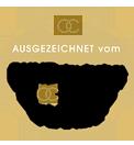 Grafik-Button: Siegel - Empfohlen vom Bund deutscher Hochzeitsplaner