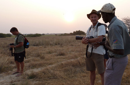 Guided Walk am Zambezi/NAM