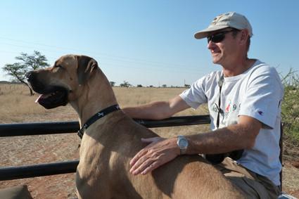 Farmfahrt in der Kalahari