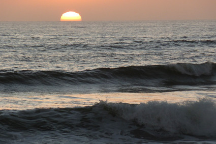 Abendlicher Strand
