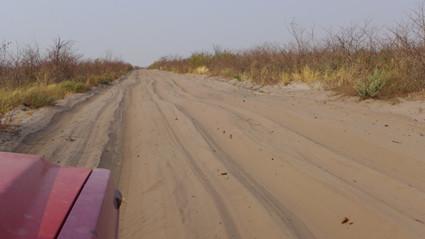 Botswanas Sand-Pisten